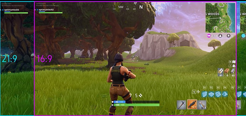 How To Fix Aspect Ratio In Fortnite Can Fortnite Be Played On A Ultrawide Monitor 21 9